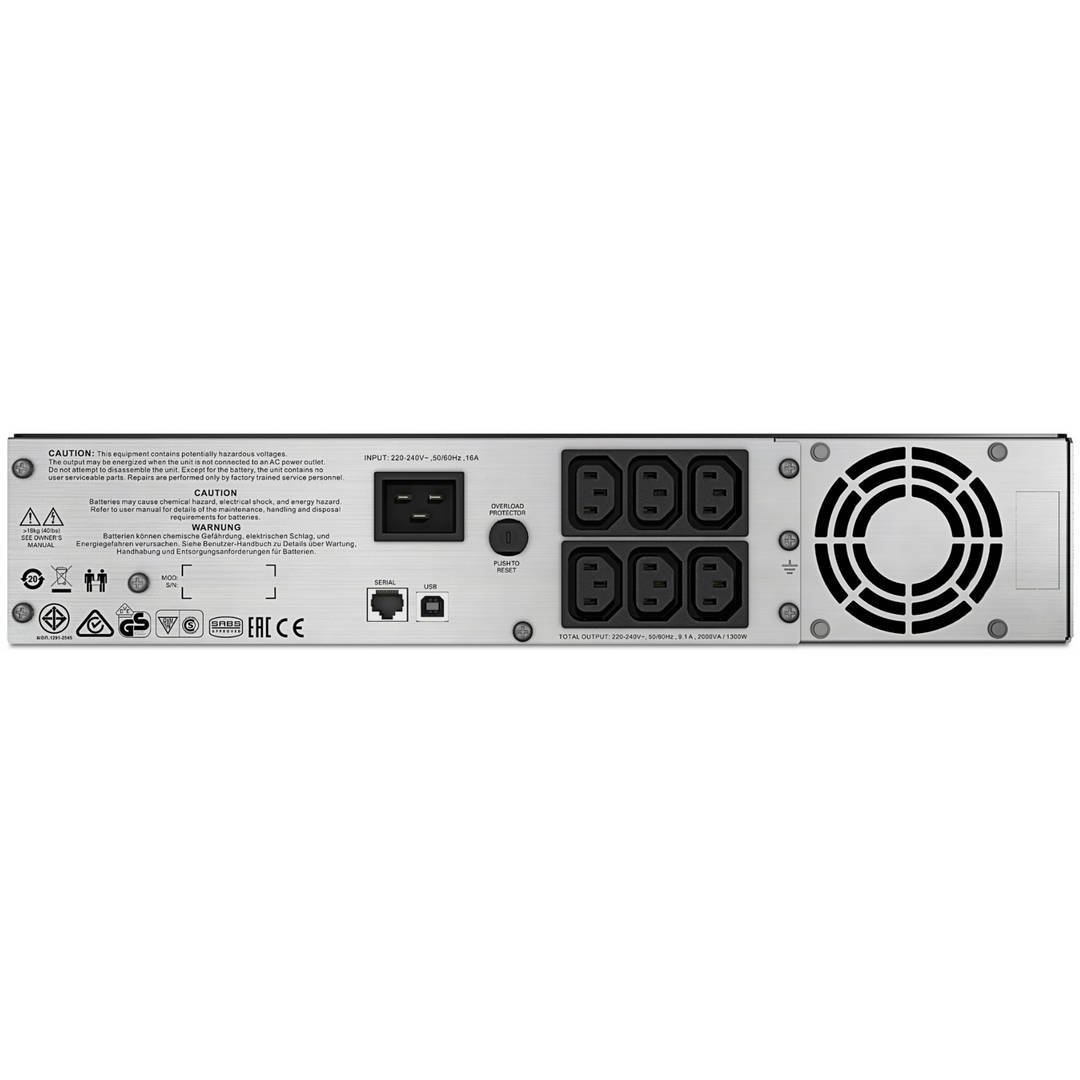 APC Smart-UPS C 1300 Watts 2000VA รับประกัน 3 ปี